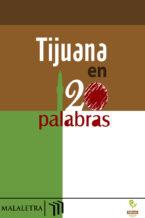 Tijuana en 120 palabras - portada